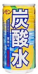 サンガリア 炭酸水 レモン 185ml×30本