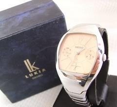 500円スタ★本物正規SEIKOルキア クォーツ レディース腕時計