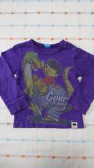 コンベックス♪紫長袖シャツ♪100�p