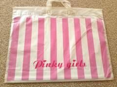 Pinky girls ピンキーガールズ  レアなショップ袋
