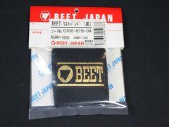 BEET製 リストバンド 黒 ビート