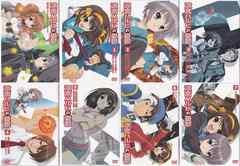 ★DVD 涼宮ハルヒの憂鬱 通常版 Vol.1~8 全8巻セット