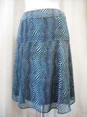 【ミッシェルクラン】【未使用品】シフォンフレアースカートです