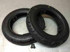 ☆ 新品 3.00-10 タイヤ 2本 バルブ2本セット