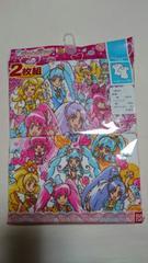 500円スタ☆プリキュア3分袖スリーマ2枚セット☆新品☆