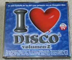 I LOVE DISCO VOL2 3CD 80s�ި�� ʲ�żް