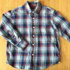 GAP・チェックシャツ(130)