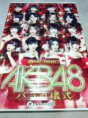 パチンコ パチスロ AKB48 非売品 特大タペストリー ホール限定