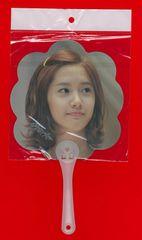 少女時代 ユナ YoonA 応援ミニうちわ 印字サイン入り●残1