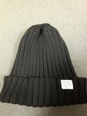 2ways 黒 ニット帽