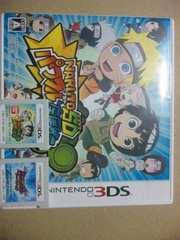 †送料無料3DS専用set NARUTO+ジャイロゼッター