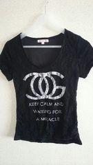 CoCo風ロゴレースTシャツ