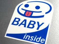 BABY inside 耐水ステッカー即買☆BABY IN CAR 赤ちゃん
