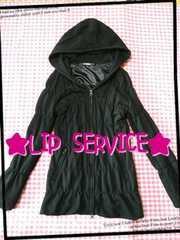 LIP SERVICE♪ブラック♪パーカージャケット☆