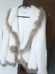 美品ラビットの可愛いコート(サイズ42)送料無料