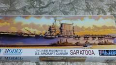 フジミ1/700  アメリカ海軍 航空母艦  サラトガ