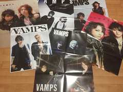 美品!!VAMPSポスター12枚 紙袋1枚