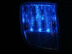 ランドクルーザー200系 LEDリアバンパーライト 青