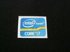 ★最新★ニューデザイン Intel Core i7エンブレムシール