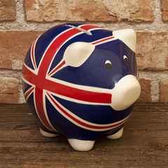◆ ポタリーマネーバンク ピッグ PIG★イギリス貯金箱★