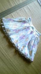 リズリサ花柄プリーツスカート美品!