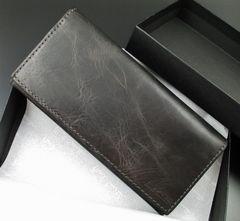 新品☆箱付 ポールスミス 上質牛革使用 長財布 ブラック