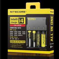 高性能 Nitecore i4 4本用 充電器 18650 単三 単四