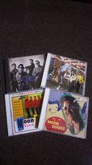 ムーンドッグス美品CD 4枚組 ダックテールズ クールス キャロル バンド ライブ ロックンロール