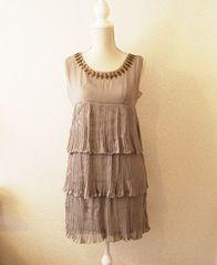 新品タグ付き SUGAR SWEET 3段フリルワンピース ドレス