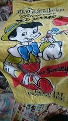 ピノキオのフェイスタオル