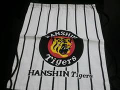 阪神タイガース布製の巾着リュック