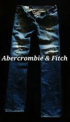 �yAbercrombie&Fitch�zVintage Destroy ��۲�ްݽ� 32/M.Wash