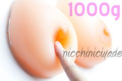 生まれ変わる■シリコンバスト1000g■女装人工乳房性転換