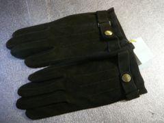 ニナリッチオム スェード&ニット革手袋フリー