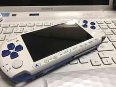 PSP-3000 ブルー&ホワイト