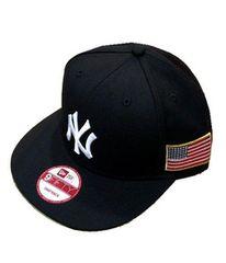 スーパーセールNewEraニューエラNYニューヨークヤンキース★サイド星条旗スナップバックキャップ