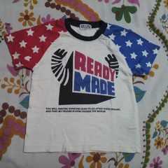 キッズBIG MOUSE袖 星柄 Tシャツ 95�p