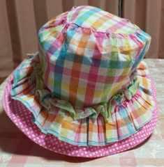 ムージョン購入☆kidsforet☆春夏用ベビー帽子