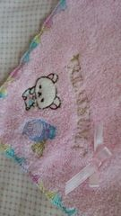送料半額♪コリラックマ刺繍タオル素材ハンカチ(´(ェ)`)♪