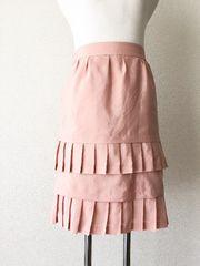 [BODY DRESSING]★フリルスカート・ピンクカラー・サイズ[38]★