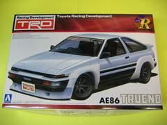 アオシマ 1/24 Sパッケージ・バージョンR No.40 TRD AE86トレノ N2仕様 新品