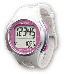ウォッチ万歩計 DEMPA MANPO TM-500 ホワイト (腕時計型歩数計)