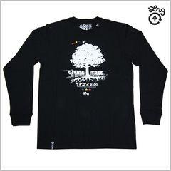 即決◆新品LRG長袖Tシャツ M◆ロンTストリートスケーターレゲエラスタSK8黒2012◆