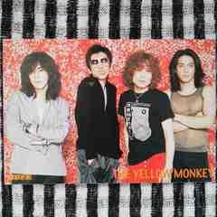 THE YELLOW MONKEY◇CDでーた 雑誌付録 ポストカード◇イエモン