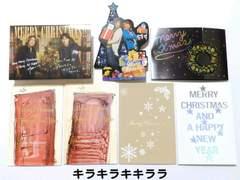 ◆B'zファンクラブ<B'z Party>特典★クリスマスカード/6枚セット非売品