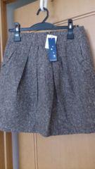 未使用タグ付☆innowave イノウェーブ☆スカート☆定価8000円位