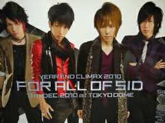 �y�����i�z���g�p SID YEAR END CLIMAX 2010 �߽��  ��ޖ���