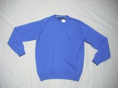 41 男 NAUTICA ノーティカ 青 セーター XS