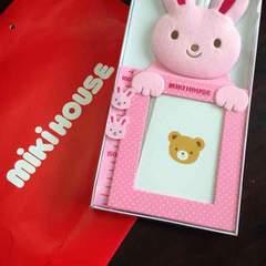 【新品未使用!!】ミキハウスうさこ身長計。定価3240円