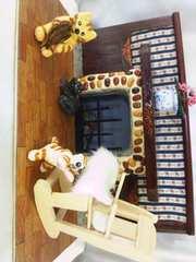 ハンドメイドぽちゃ猫他暖炉でほっこり猫3匹ミニチュアハウ
